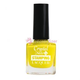 Stamping lacquer nyomdalakk - sárga