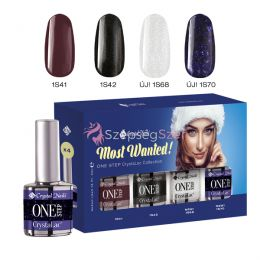 Most Wanted! ONE STEP CrystaLac készlet 2018 Winter (4x4ml)