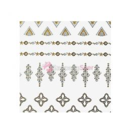 Jewel sticker ékszermatrica 18