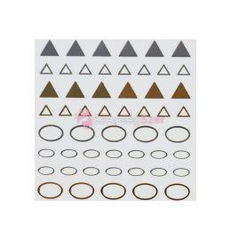 Jewel sticker ékszermatrica 25