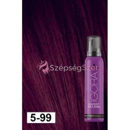 Schwarzkopf Igora Expert Mousse 5-99 Világos Barna Extra Violette 100 ml