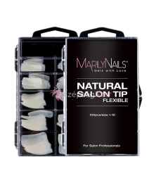 NATURAL SALON TIP BOX - 100DB - 10 MÉRET