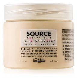 L'oreal  Source Ess. Sesame oil Tápláló pakolás Érzékeny Hajra 300ml