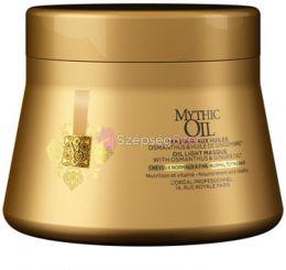 Mythic oil pakolás normál és vékonyszálú hajra 200ml