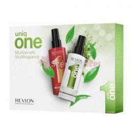 Revlon Uniq One 10 Az Egyben Spray Balzsam Classic& Green Tea 2x 150ml