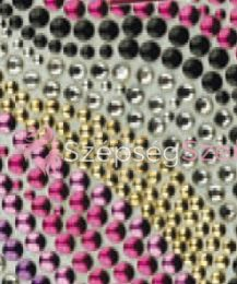 Crystal Sticker dekor fólia - Retro 6x10cm