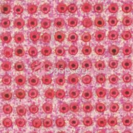Crystal Sticker dekor fólia - Rózsaszín, Holo pink 6x10cm