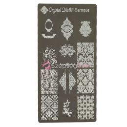 Egyedi Crystal Nails Körömnyomda lemez - Baroque