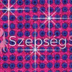 Crystal Sticker dekor fólia - Kobalt kék, Magenta 6x10cm