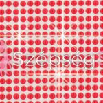 Crystal Sticker dekor fólia - Piros 6x10cm